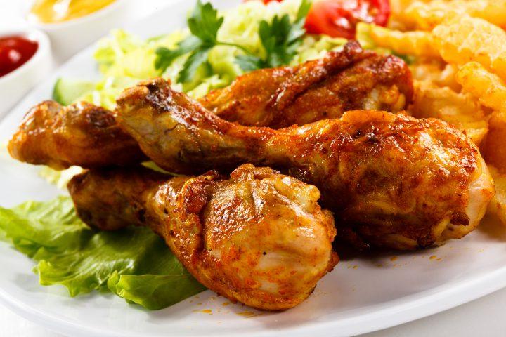 zelfgemaakte kippenragout